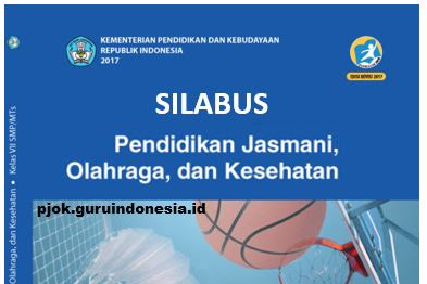 Silabus PJOK Kelas VII SMP/MTS Kurikulum 2013 Revisi 2017