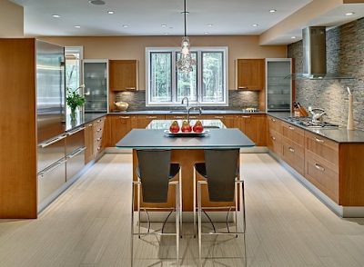 Layout Interior Kitchen