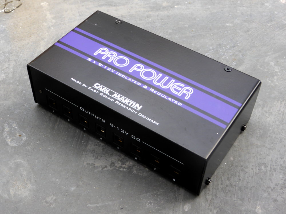 Power Supply Carl Martin Pro Power