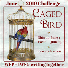 WEP CHALLENGE FOR JUNE - CAGED BIRD