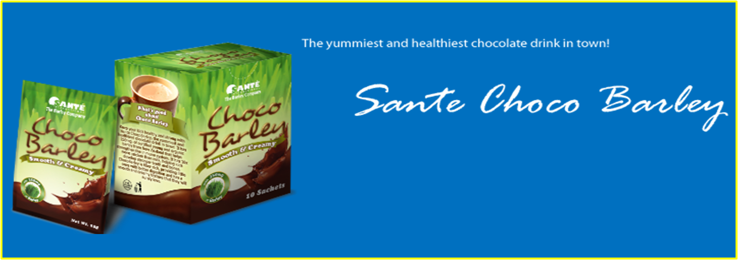 Sante International The Barley Authority Philippines