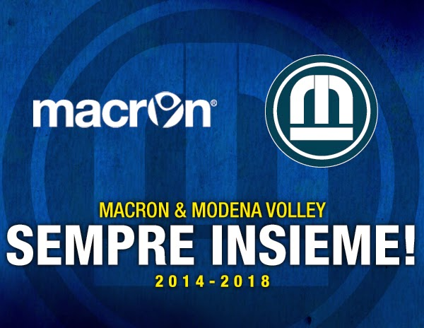 Macron e modena volley rinnovano la partnership fino al for Casa modena volley