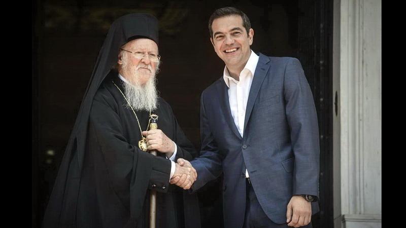 Ο Βαρθολομαίος και η εκκλησιαστική πλευρά του ζητήματος των Σκοπίων