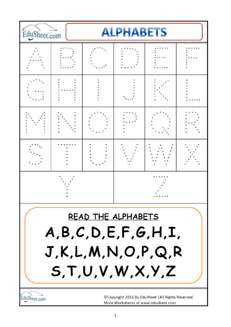 Number Names Worksheets : tracing capital letters worksheets ...