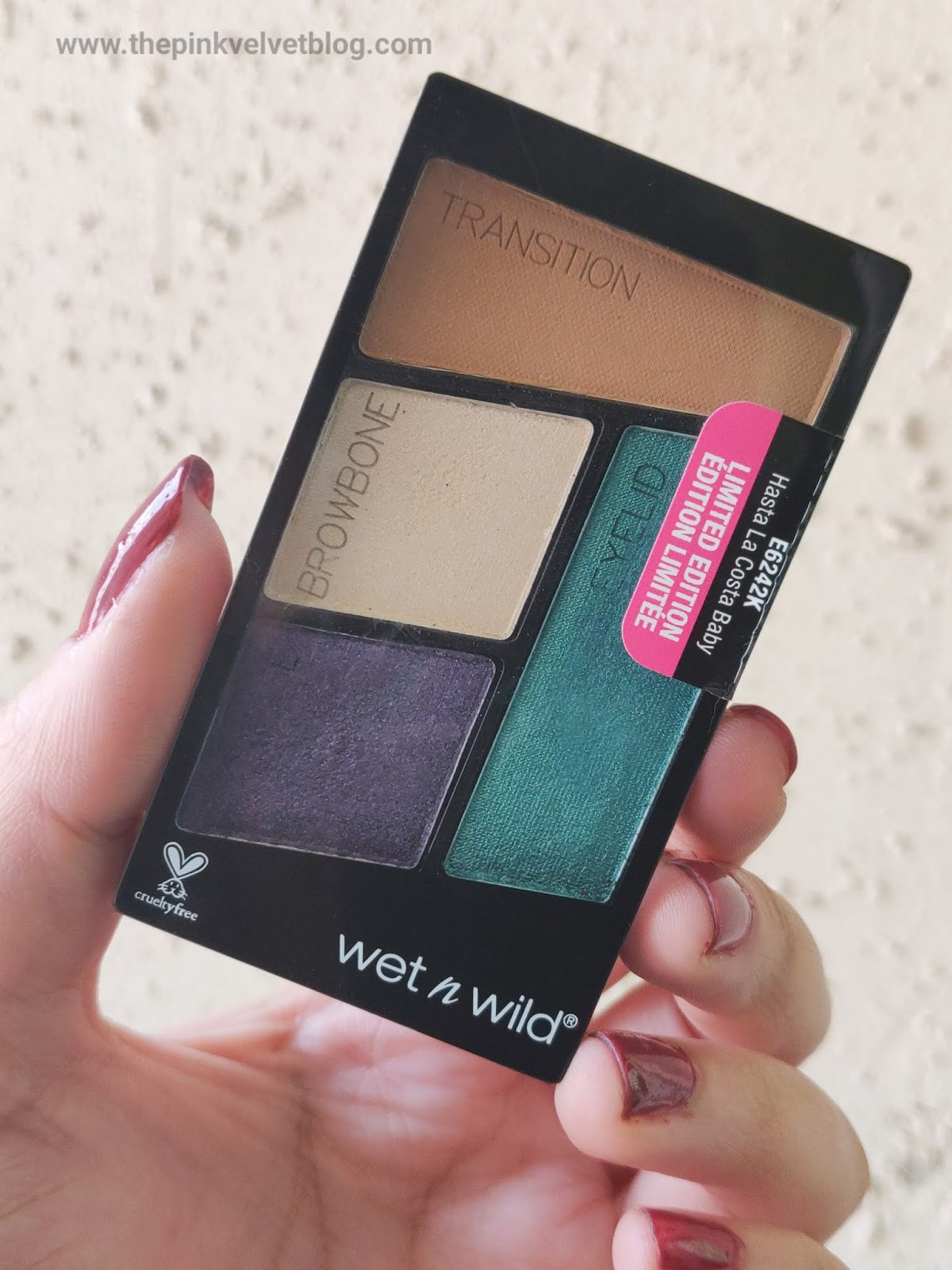 Top 5 Eyeshadow Palettes in India under Rs.1000/- and their Swatches - Wet n Wild Hasta La Costa Baby