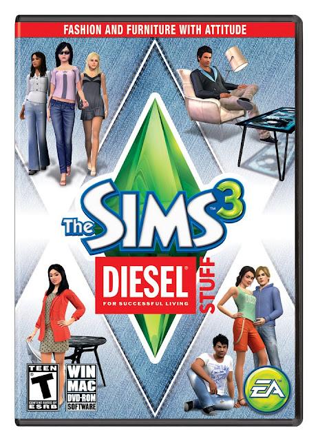 Los Sims 3 Diesel Accesorios PC Full Español Reloaded Descargar 2012