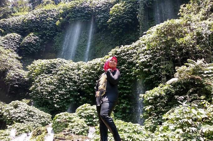 Benang Kelambu Waterfall dan Benang Stokel Lombok Tengah | Trip Lombok Indonesia