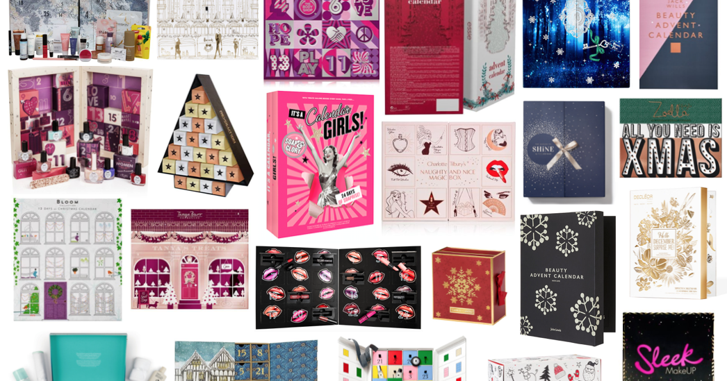 Beauty Advent Calendars 2017 Hannah Heartss
