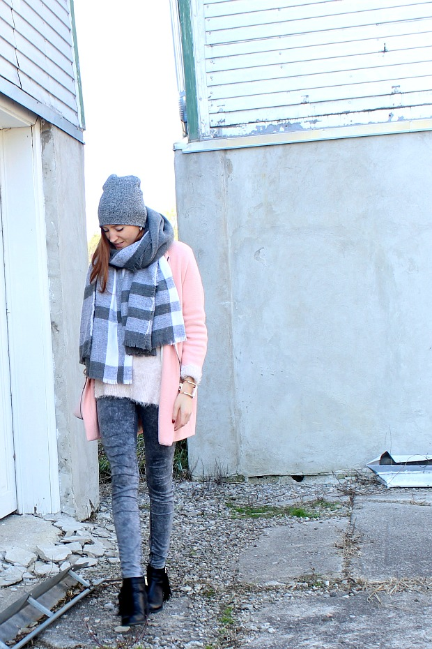 Pink & Grey Fall Style
