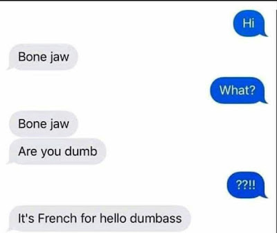 Funny Bone Jaw Texting Fail