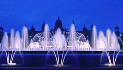 Magic Fountain of Mountjuic, Barcelona, Spanyol
