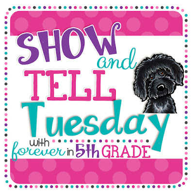 http://foreverinfifthgrade.blogspot.com/2016/02/show-tell-tuesday.html