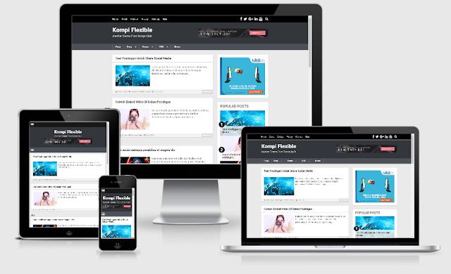 Download Template Blogger KompiFlexible Gratis 100% Original