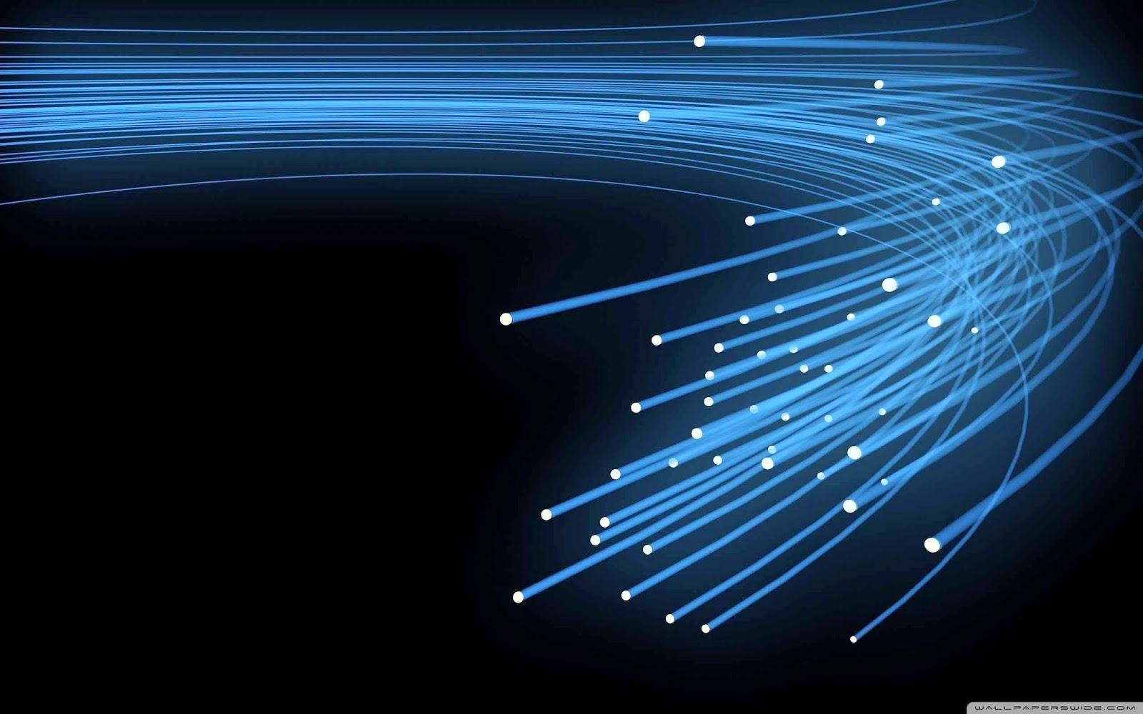 optical fiber wallpaper
