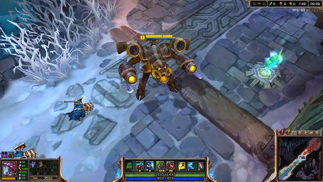 Mod Skin Chogath Gold Battlecast