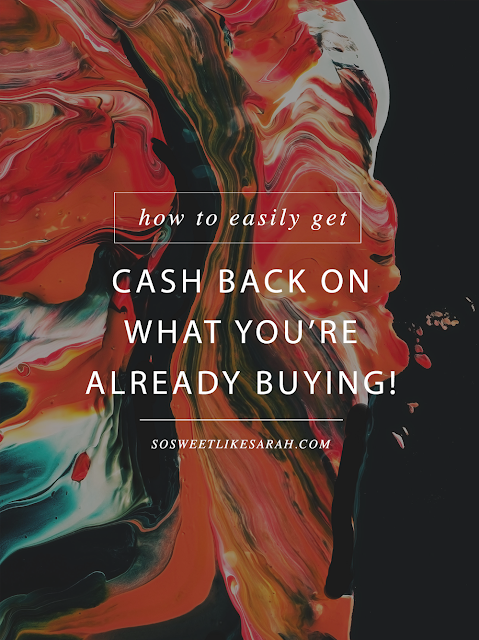 The Top Six Easiest Ways to Get Real Cash Back into Your Pocket! #cashbackapps #cashback