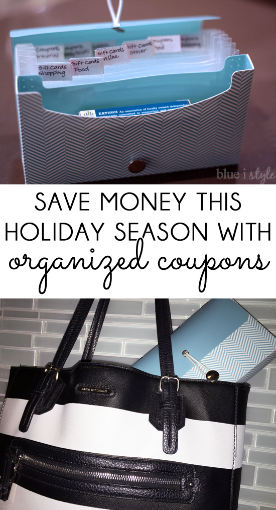 Organized Coupons & Gift Cards