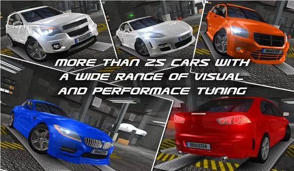 dr4 - لعبة سباق السيارات الرائعة للاندرويد Drag Racing Real 3D
