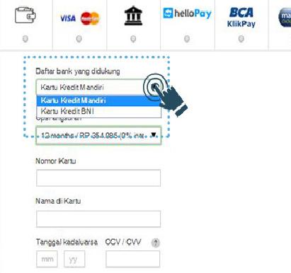 Cara Belanja Di Lazada Menggunakan Kartu Kredit Berbagi Info Kartu