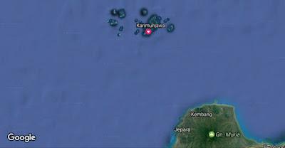 letak pulau karimunjawa