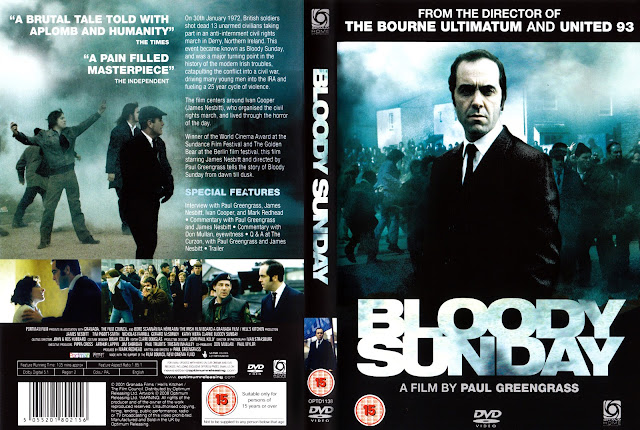 Bloody Sunday DVD Cover