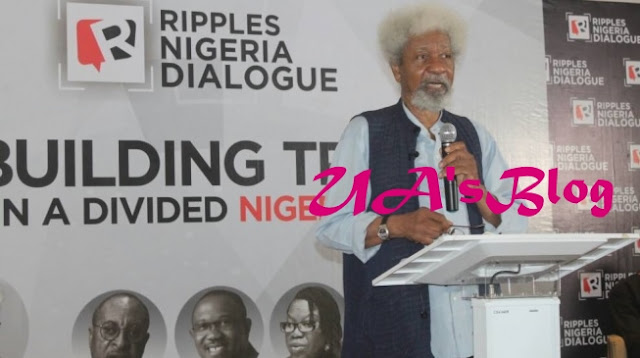 Soyinka to Buhari: Stop shedding 'unjust' tears! Deal with 'bloodthirsty terrorists'