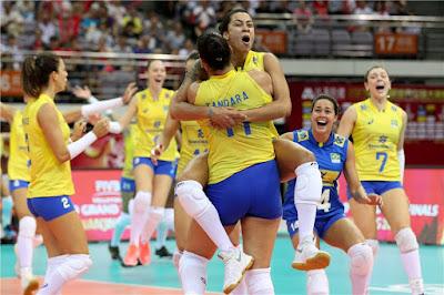 seleção brasileira vôlei feminino Tandara Drussyla