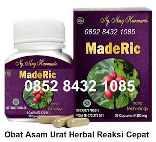 Jamu Obat asam urat&Rematik alami MADERIC herbal tradisional