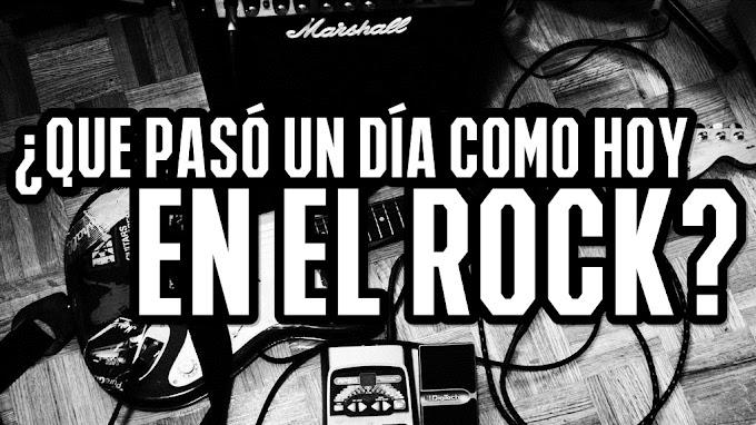 EFEMERIDES ROCK: 21 de Enero ¿Que pasó un día como hoy en el Rock y Metal? Enterate aqui.
