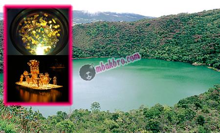 danau Guatavita dan emas hasil temuan