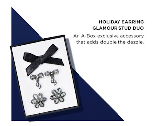 avon catalog Holiday Earring Glamour Stud earrings