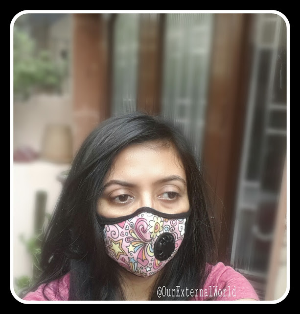 pollution mask, face mask, n99 filter, carbon filter, stylish face mask
