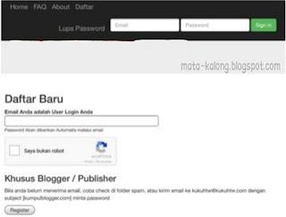 cara mudah dapat uang dari blog