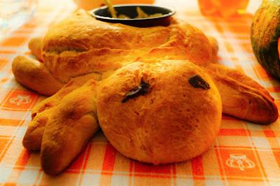 ricetta ragno di pane