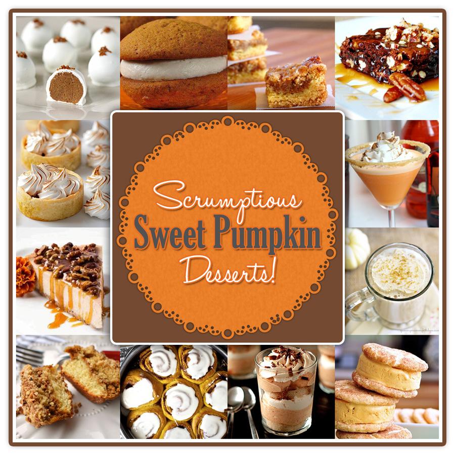 Scrumptious Sweet Pumpkin Desserts