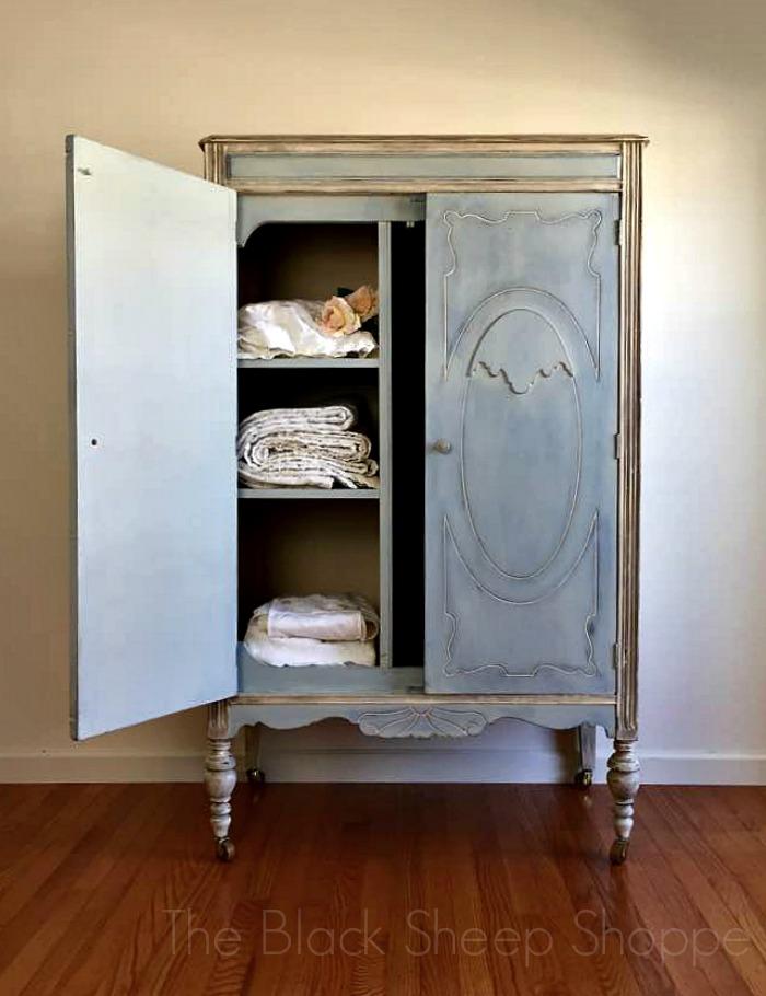 Boutique style armoire.