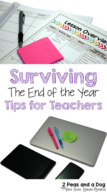 Ensure that your class runs smoothly during the end the year by incorporating these 4 important tips to calm the chaos during the countdown to summer vacation.