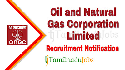 ONGC Recruitment 2020, Govt jobs in India, central govt jobs, ONGC Notification 2020