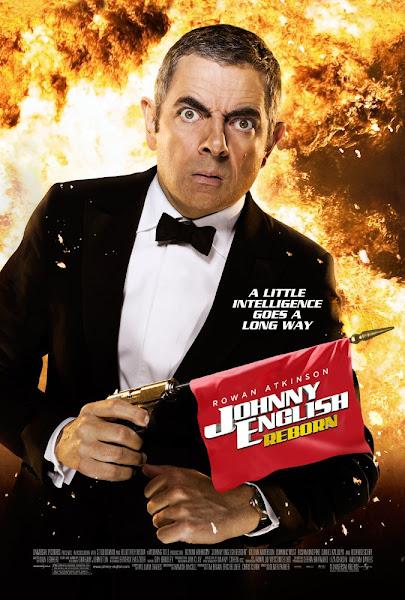 Poster of Johnny English Reborn 2011 Hindi 720p BRRip Dual Audio Full Movie