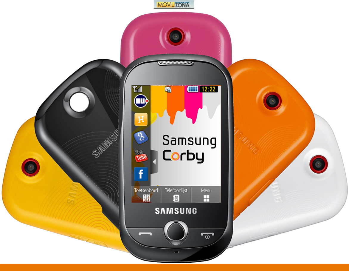 of samsung corby s3653