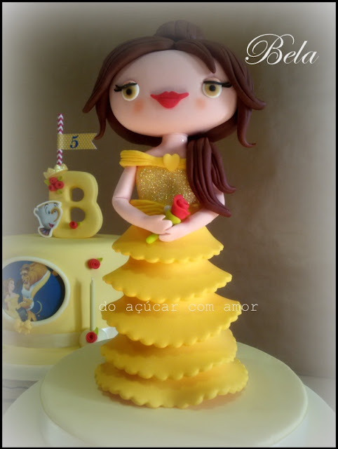 BEAUTY 6 THE BEAST TWO CAKES - BABI