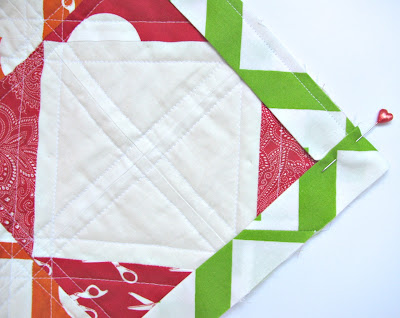 Fold Binding to Make a Square Quilt Corner