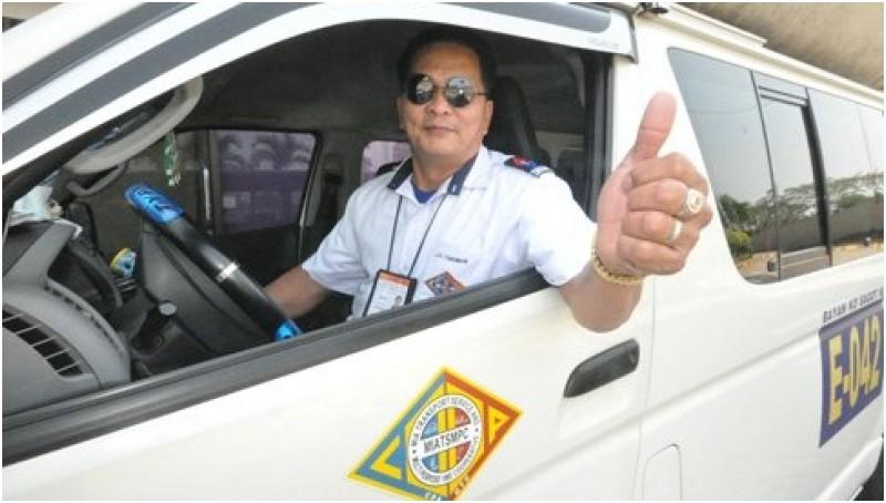 Sopir taksi di Filipina