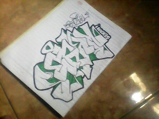 Cara Membuat Graffiti Bye Schoolgraffiti