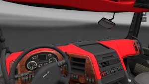 DAF red interior by Daniel K.