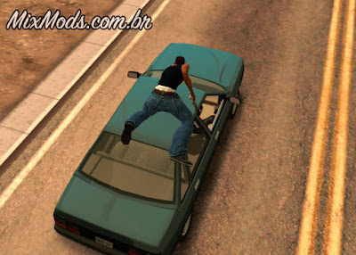 roubar carros como just case no gta sa