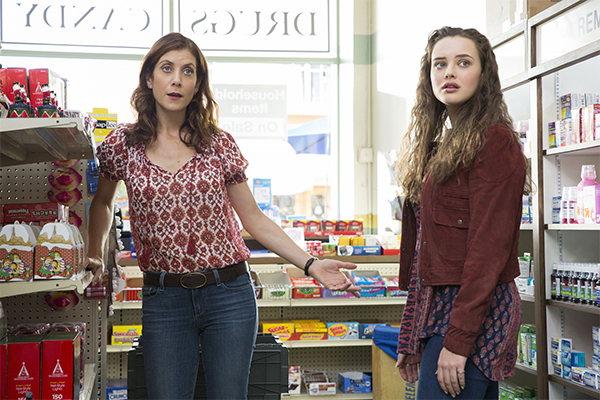13 Reasons Why - Blog #tas - Kate Walsh e Katherine Langford