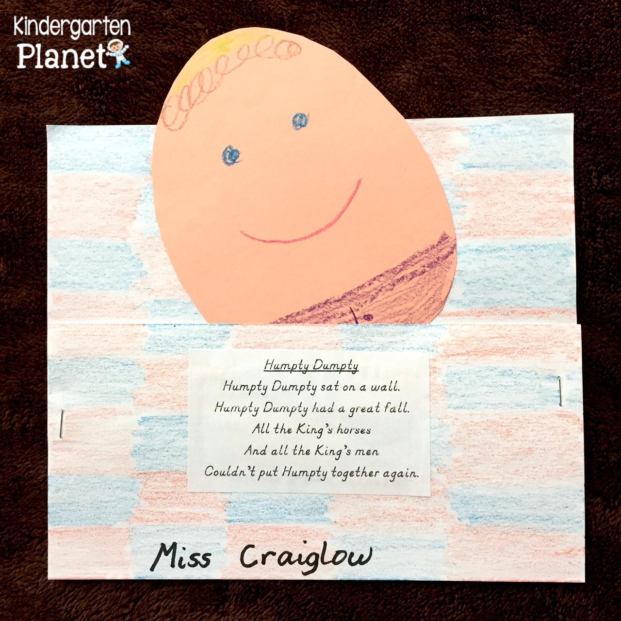 Kindergarten Planet: May 2016
