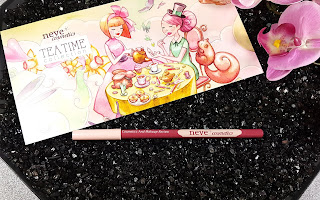 Neve Cosmetics - Tea Time Collection - packaging Pastello labbra