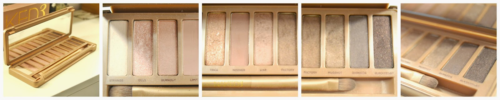 Urban Decay Naked 3 Eyeshadow Swatches Swatch